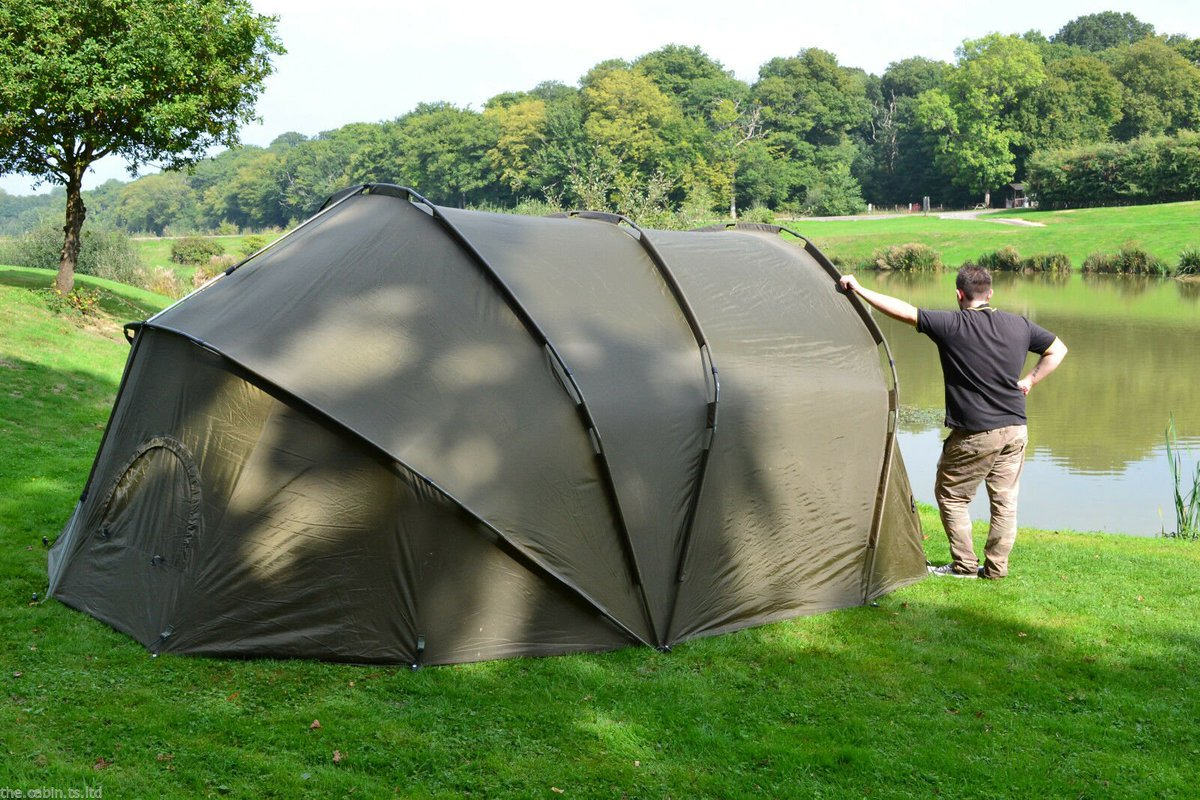 Ad - Apparently, this is the world's largest bivvy! On eBay here --&<b>Gt;</b>&<b>Gt;</b> https://t.