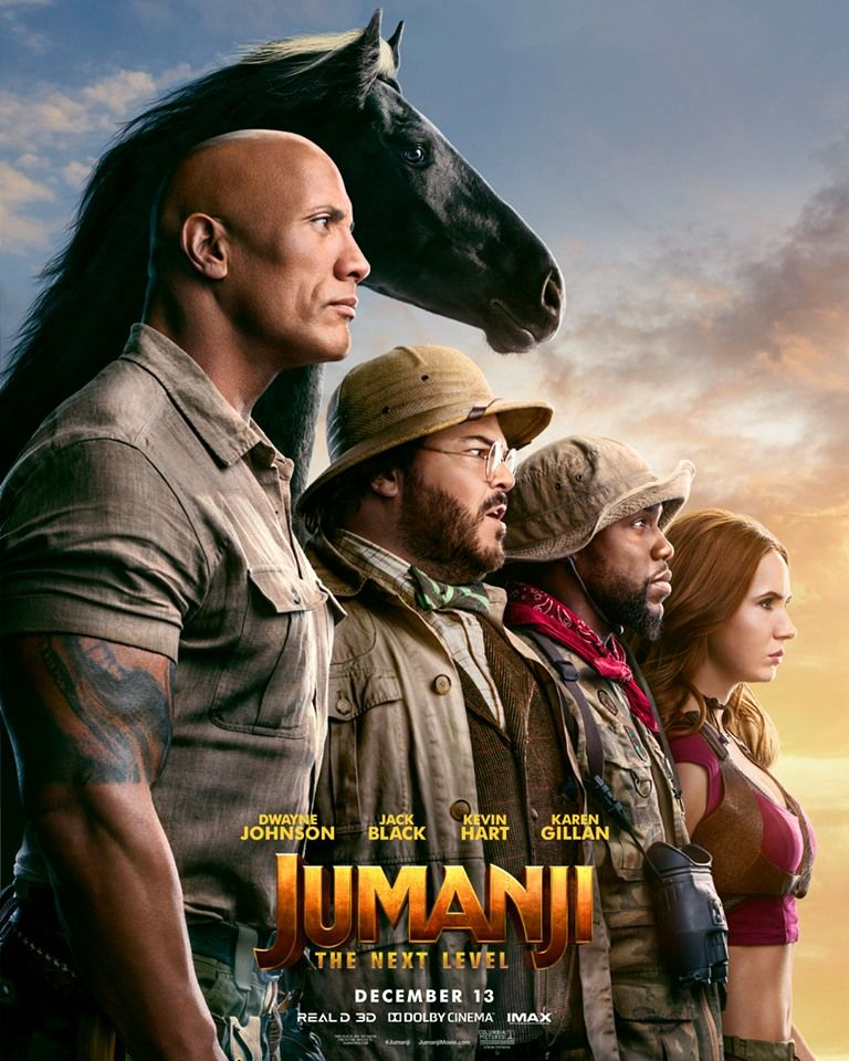 test Twitter Media - New player unlocked. #JUMANJI: THE NEXT LEVEL in D-BOX December 13.  //  Un nouveau joueur est arrivé. #Jumanji :The Next Level en D-BOX le 13 décembre. https://t.co/OjRl9XMAPI