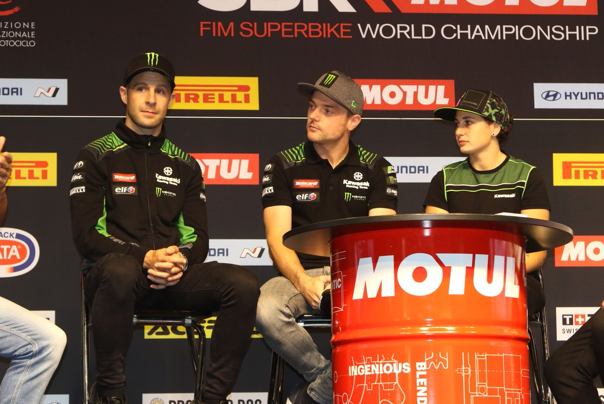 test Twitter Media - Riders, team managers and a lot of announcements! The #WorldSBK Paddock Show is hosting all the reactions from the protagonists of 2020 at EICMA! https://t.co/irlOTIj6dG