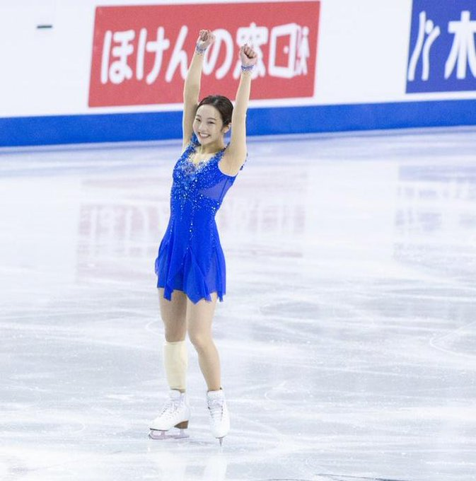 フィギュア】本田真凜、ジャンプでミス続く、、、演技後はかたい