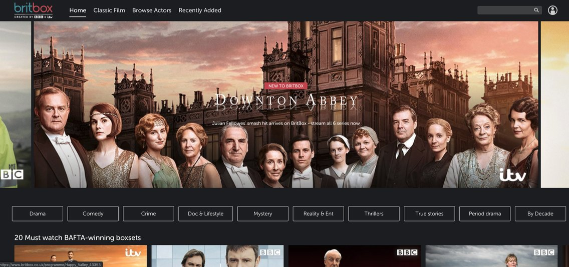 BritBox launches in the UK smack bang in the middle of the global streaming war