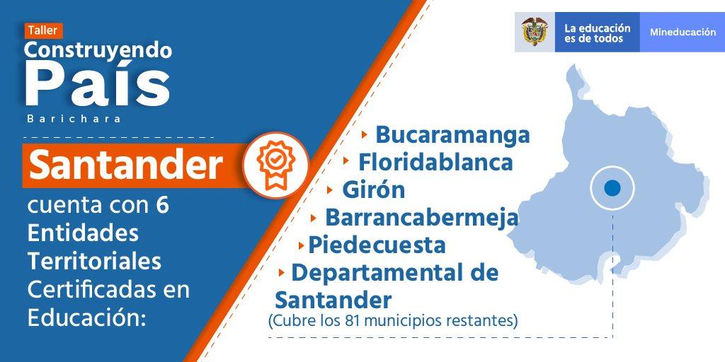 ¡Hoy estamos #ConstruyendoPaís 🇨🇴 en Barichara, Santander! En este espacio de diálogo social el Gobierno Nacional y la comunidad trabajan de manera articulada por una educación de calidad 🙌 #BaricharaConstruye https://t.co/ZSRnSv9Xg5