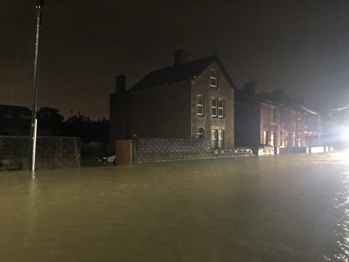 test Twitter Media - Tonight has seen a lot of flooding, we are in Ecclesfield with stranded cars, drain lids moved by the force of water and local businesses trying to protect their property, watch @itvcalendar for more #news #itv https://t.co/4mkoKro708