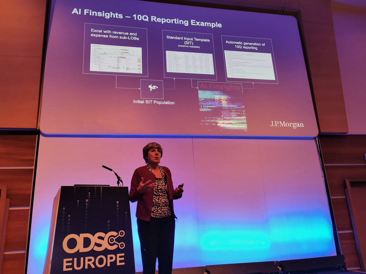 test Twitter Media - AI Finsights 10Q Reporting Examples  Reports generated from data into written reports for human consumption, with hyperlinks, down 3 levels for explanations  Please use the HASHTAG!   #ODSCEurope  #DataScience #AI #MachineLearning #Python #rstats #DeepLearning https://t.co/BJKTfO2ev4