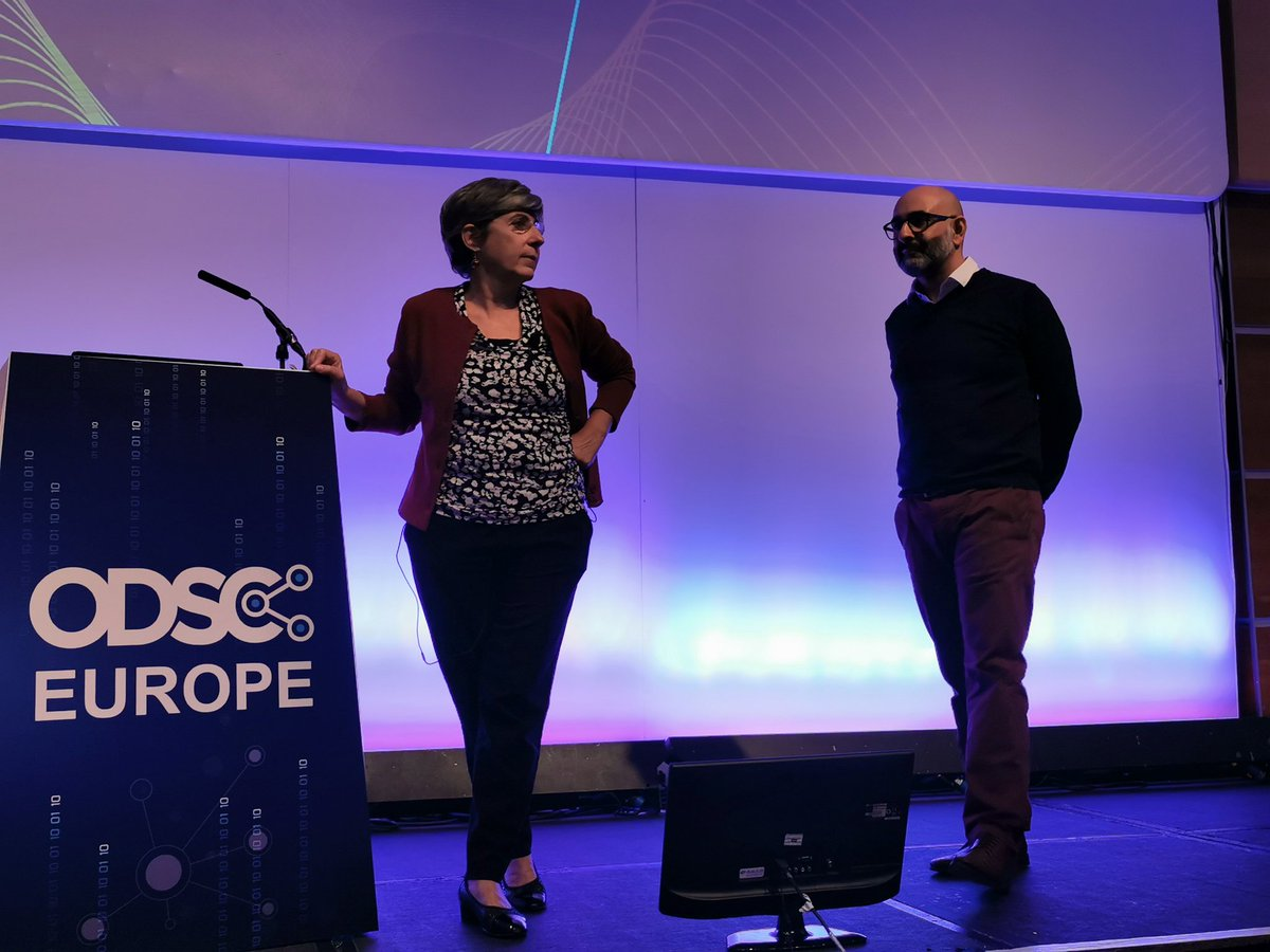 test Twitter Media - Huge thanks to Manuela, Samik and JP Morgan for generously sharing powerful insight.  Please use the HASHTAG!   #ODSCEurope  #DataScience #AI #MachineLearning #Python #rstats #DeepLearning https://t.co/TOoLFnH4pb