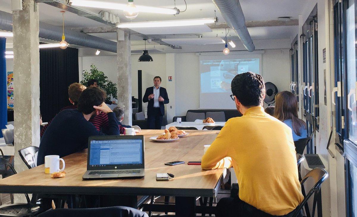 test Twitter Media - [#FridayPitch🥐☕️] Aujourd'hui, Lucas Bruand et Laurent du Bois sont venus nous parler de Tenaven, #fintech spécialisée dans le traitement de données non-structurées et destinée à faciliter le paiement de facture 📑👌 #stationF #machinelearning #DeepLearning https://t.co/QH3OwEeAKn