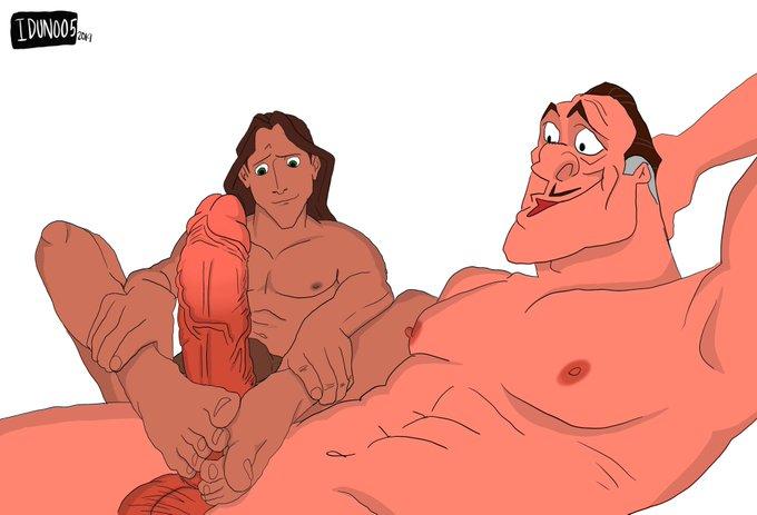 Гей Порно Тарзан