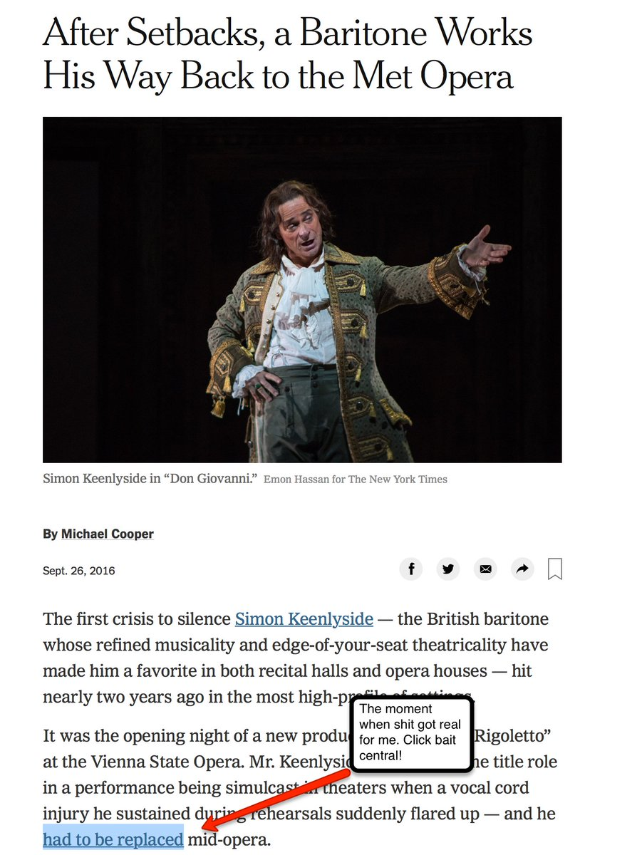 test Twitter Media - Feeling nostalgic as it's close to the end of 2019. Going through the archives & suddenly remembered one of the best things that happened to me as an opera blogger: reading https://t.co/YShXsqhw6o casually & discovering Michael Cooper referencing my blog for a #MetOpera review. https://t.co/fBLS25PAjF