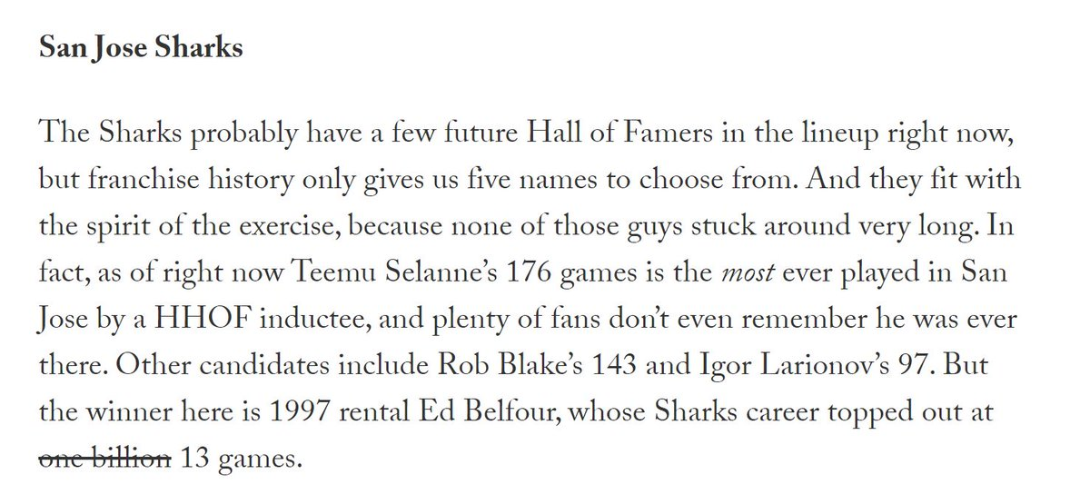 From earlier: Which Hall-of-Famer played the fewest games for your favorite team? Let's take a walk down memory lane...