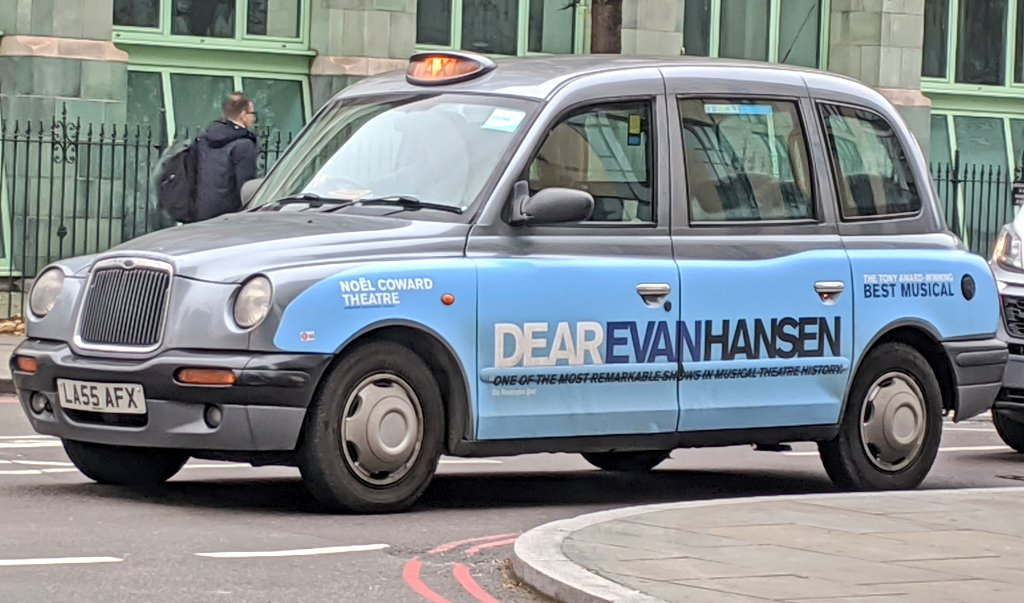 test Twitter Media - Ok London cabbie, I'll book my ticket! So much pressure! @DearEvanHansen https://t.co/WkHOY4hiZx