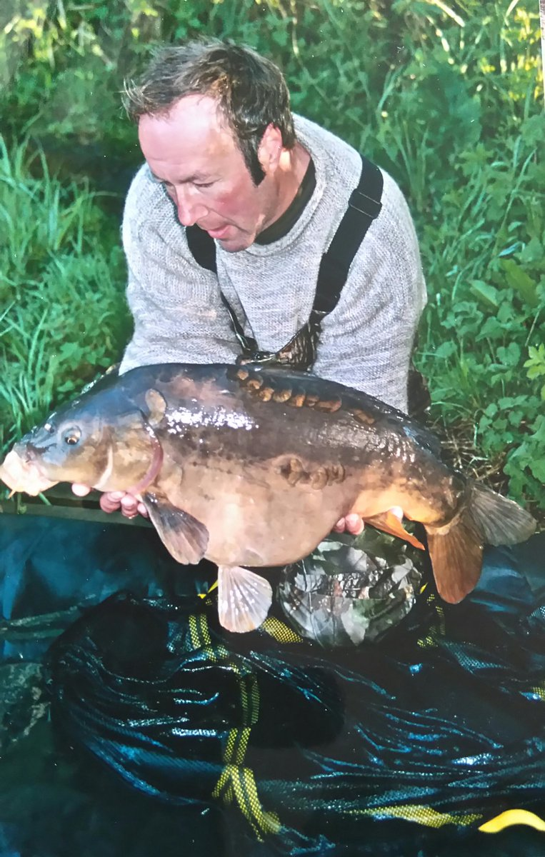 A decent mirror from my old syndicate <b>Water</b> 💦 #ThrowbackThursday #mirror #carp #carpfishin