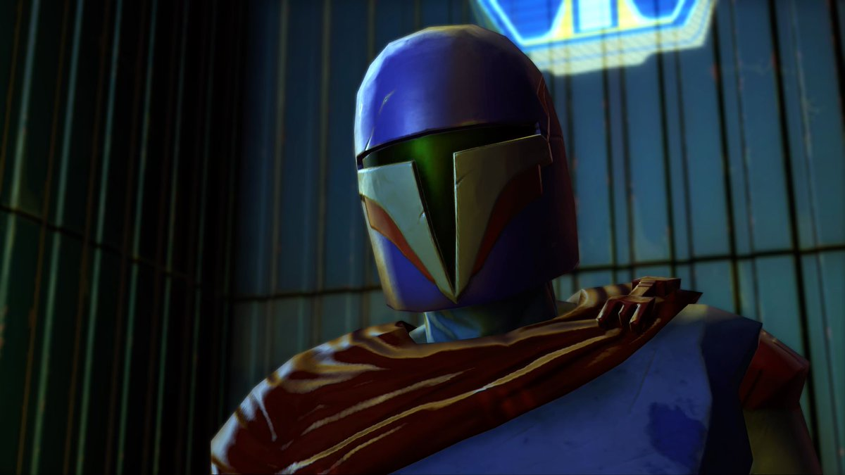 test Twitter Media - Leading the Dar'manda gang and one of the five key figures in Mek-Sha stands Indigo. Being an Ex-Mandalorian, he and his crew won't take kindly to any Mandalorian that approaches them. https://t.co/0Ymq4dRvs6