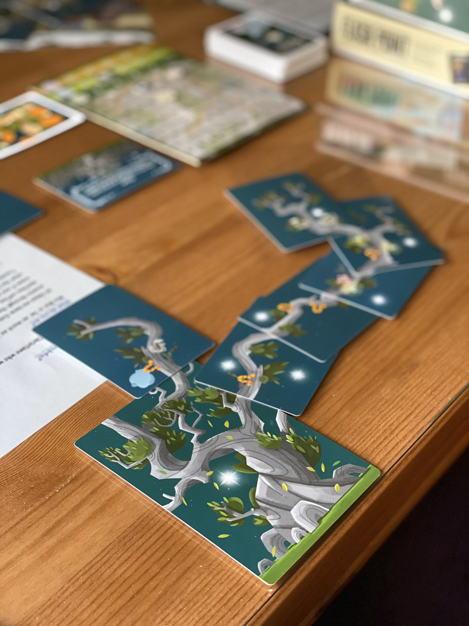 Ooo loved playing Kodama! Quick, clever and pretty! #kodama #zatugames #boardgames #boardgame #zatugamesuk #boardgamegeek #bgg #boardgamelife #boardgamesoftwitter https://t.co/ktbunmIF7p