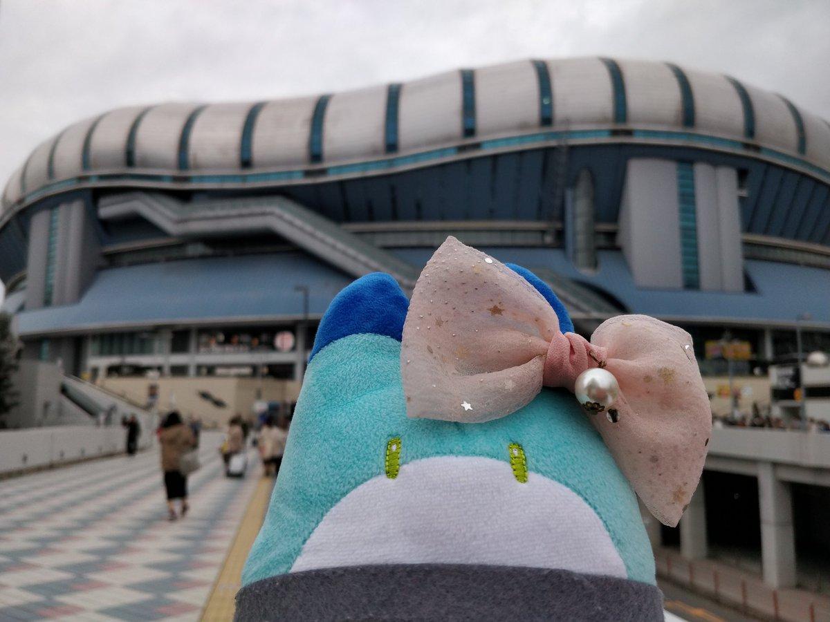 test ツイッターメディア - 「『京セラドーム大阪』ニ着イタヨ!」 #ラッキービースト https://t.co/liToCXdWGZ