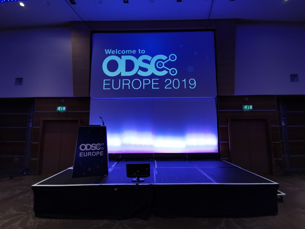 test Twitter Media - HUMANS & AI IN FINANCIAL SERVICES - THE FUTURE  Stage set for Keynote Dat 4 at #ODSCEurope  Samik Chandarana, Applied AI & ML CIB, JP Morgan   Please use the HASHTAG!   #ODSCEurope  #DataScience #AI #MachineLearning #Python #rstats #DeepLearning https://t.co/KxYQEbhjuR