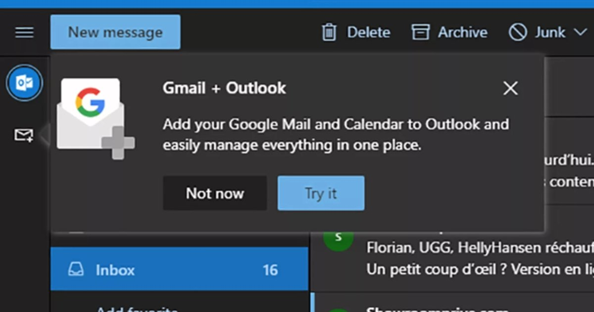 test Twitter Media - Microsoft tests Gmail integration in web-based Outlook: #DeepLearning #IoT #BigData copy @Mikequindazzi https://t.co/ZRiJYkPNUO https://t.co/YhElXmsR8K