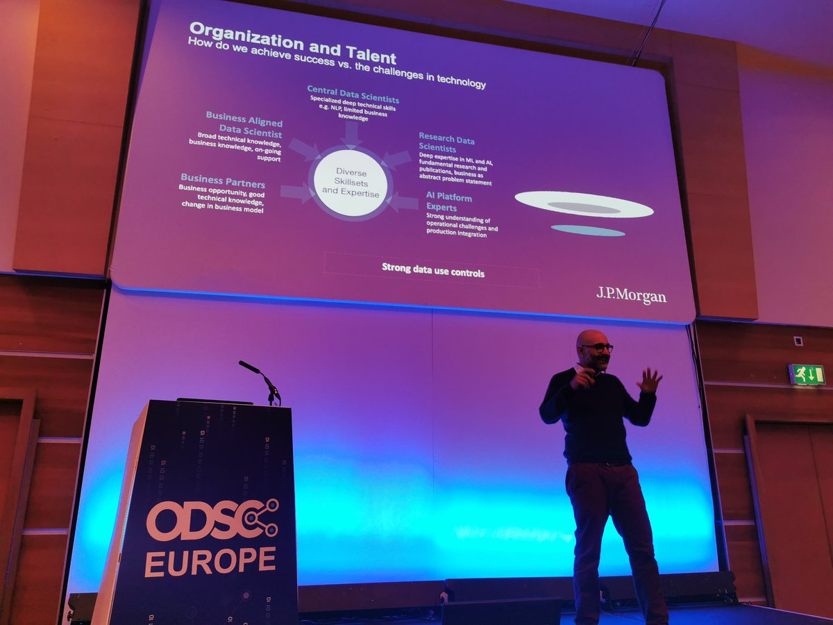 test Twitter Media - What you need to know about Organisation and Talent  You MUST make knowledge contextual, embedded Data Scientists working with domain experts  STRONG DATA USE CONTROLS  Please use the HASHTAG!   #ODSCEurope  #DataScience #AI #MachineLearning #Python #rstats #DeepLearning https://t.co/TWZIfNUgfJ