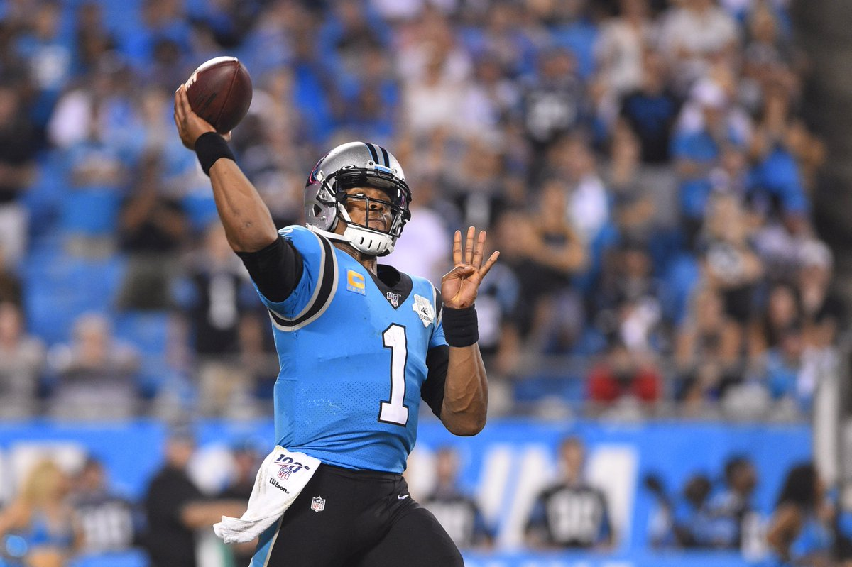 test Twitter Media - Report: Cam Newton 'highly unlikely' to be with Panthers next season #KeepPounding  #CarolinaPanthers #NFL100 #CamNewton  https://t.co/YQoxG3k7kE https://t.co/vz7Z577xOv