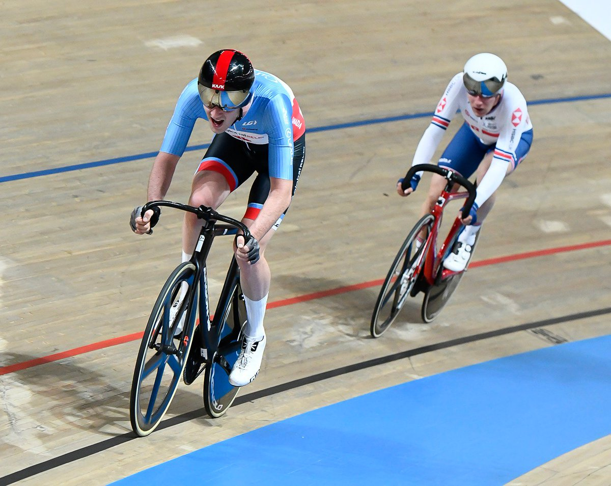 test Twitter Media - Solid ride for @DerekGee7 at the 🇬🇧#TissotUCITrackWC to finish 6th in the Omnium!  Next up ✈️ Hong Kong World Cup https://t.co/sTlBmqA0e8