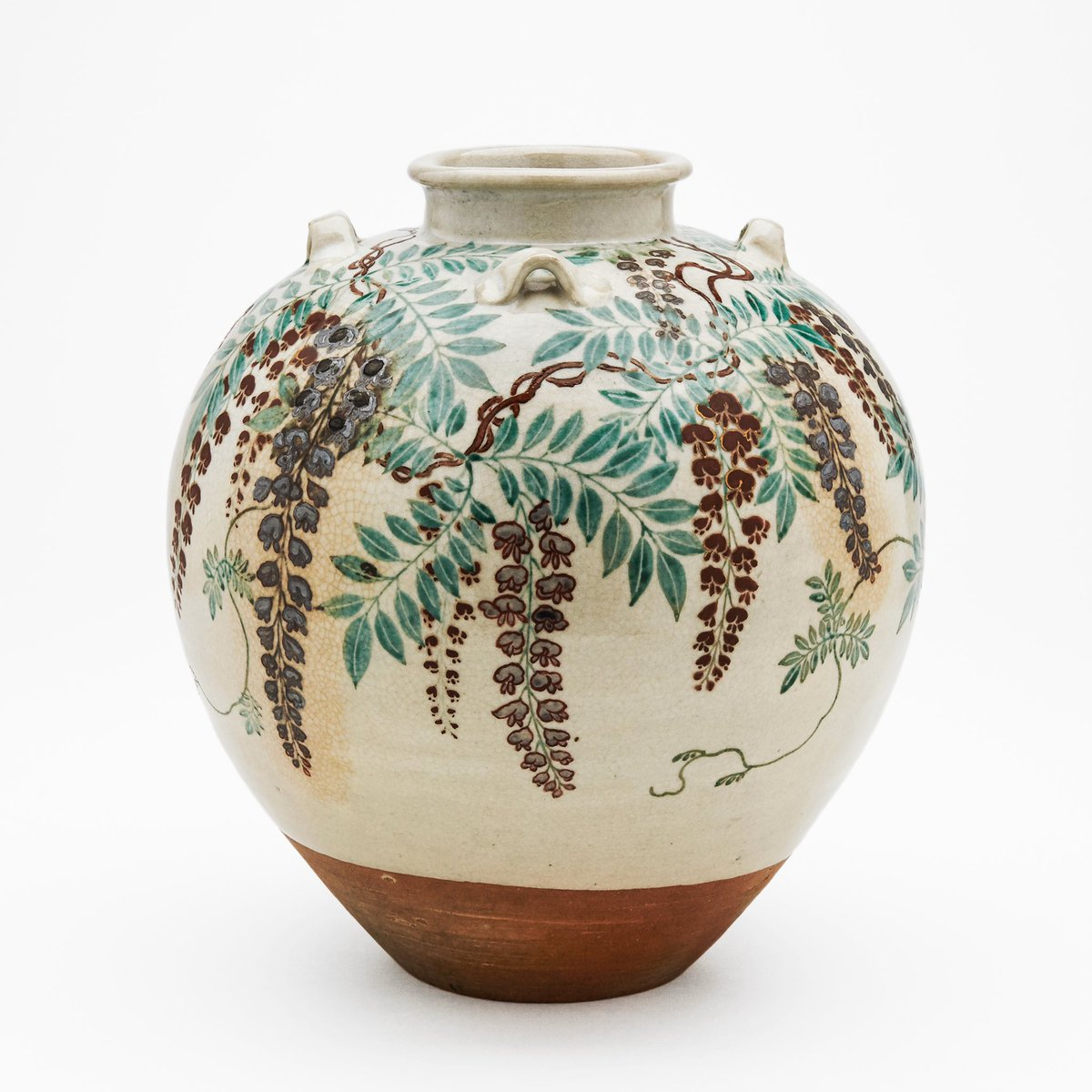 test ツイッターメディア - この動画で使用しているのはMOA美術館所蔵の国宝 色絵藤花文茶壺のレプリカです。 ただいま開催中の仁清展にてご覧いただけます。 https://t.co/czdZybvUU3 https://t.co/ZBuMuSorYe