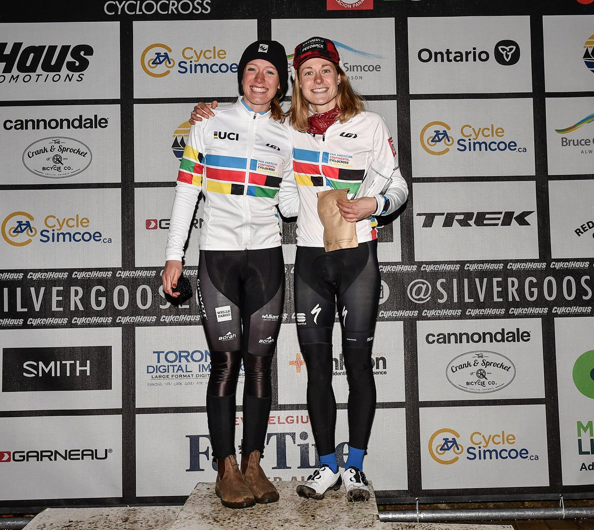 test Twitter Media - 💥That's a wrap folks! The 2019 Pan Am Cyclocross Champs @SilverGooseCX 🦆 conclude with two 🇨🇦Canucks sealing 🏆 titles on home soil. Bottoms up @maghroch and @ruby__west 🍻  🔗: https://t.co/gWBq56GugT 📷: @cdncyclist https://t.co/lb6afxUS43
