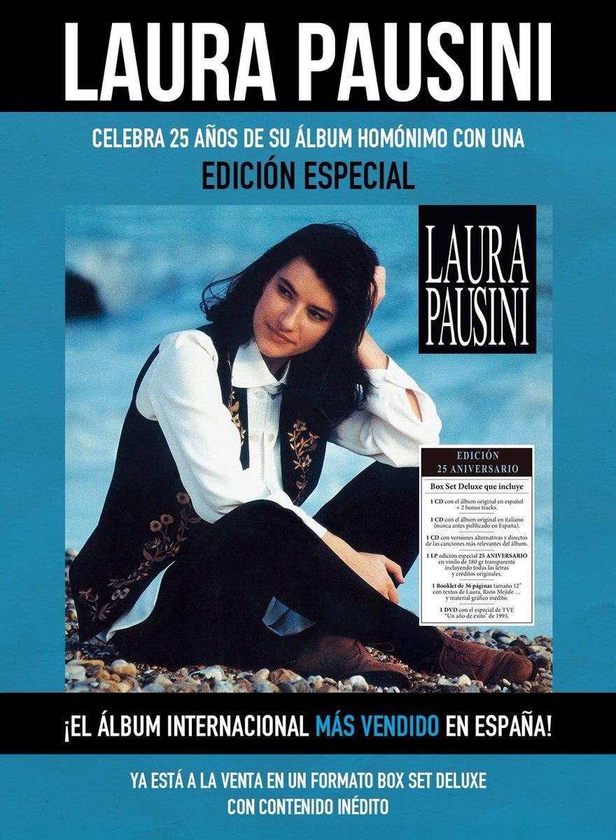 ¡Debes tenerlo! @LauraPausini lanza a la venta una súper edición de colección de su exitoso álbum homónimo. 👌👏🎶