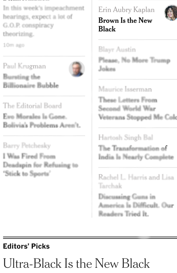 test Twitter Media - Come on, @nytimes, which is the new black? I MUST KNOW. https://t.co/WIKBKM3XY6