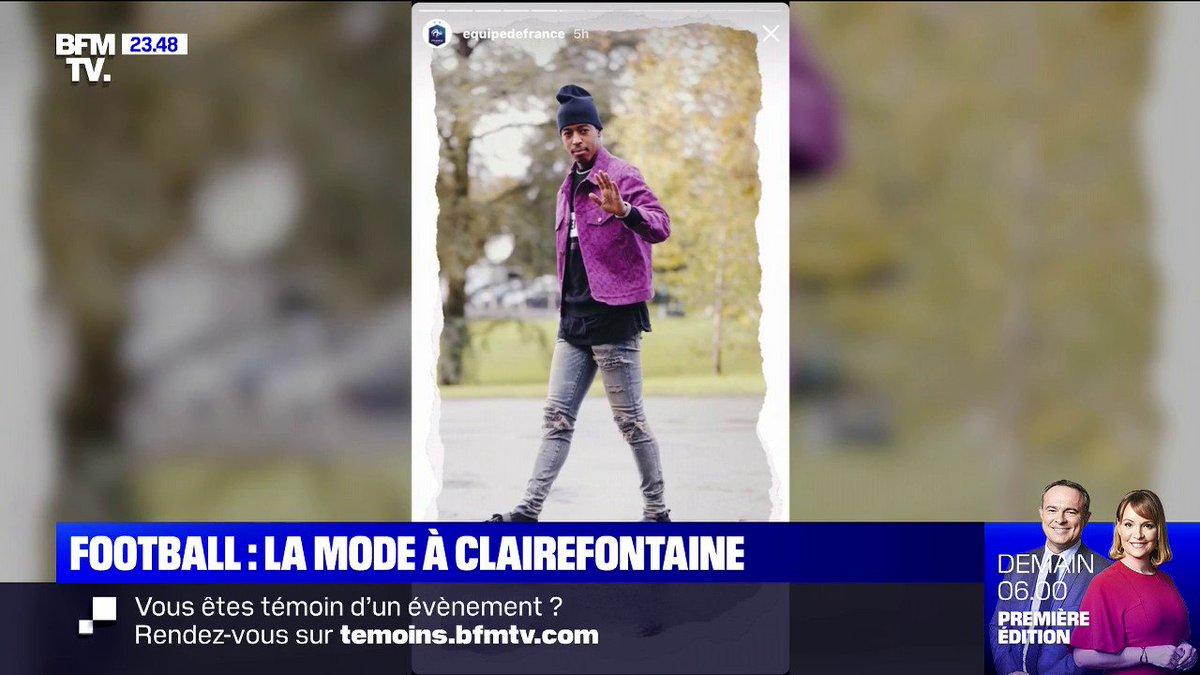L'arrivée des Bleus à Clairefontaine ressemble de plus en plus... à la Fashion Week @jeanne_daudet