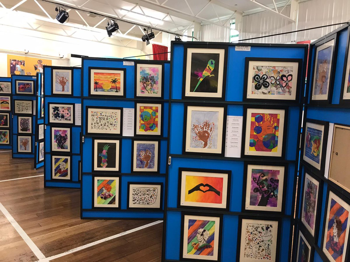 test Twitter Media - Our Art Exhibition in the Hall was successful. Thank you to everyone who came for a browse! https://t.co/kSJjz1Tjvk