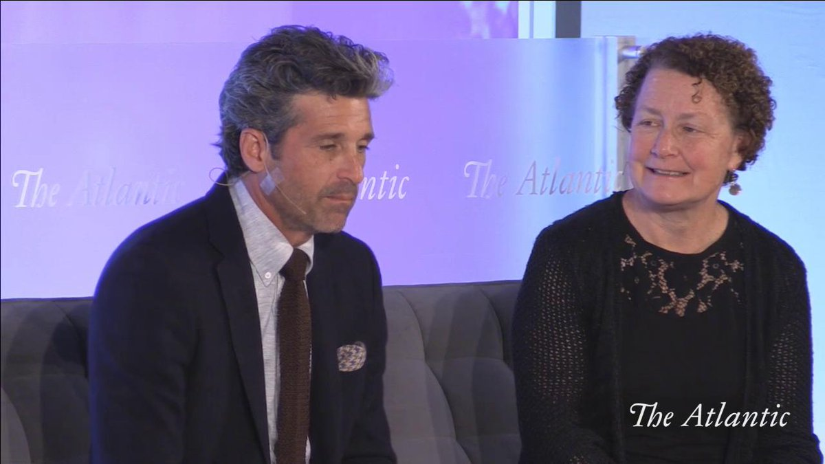 The goal of the @DempseyCenter is to support the community. We don't treat cancer, the disease – we treat the person, said @PatrickDempsey. And I believe the work being done there should go hand with cancer diagnoses. #PeopleVCancer
