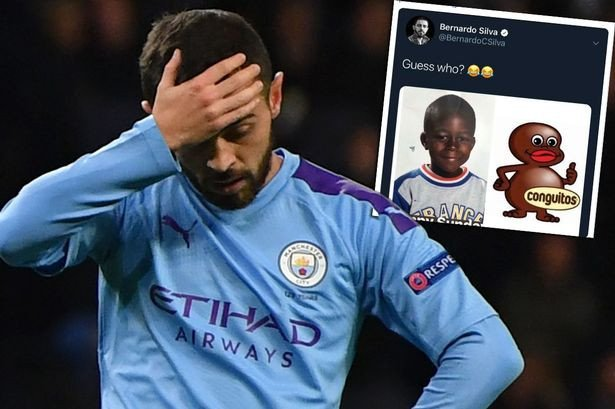 test Twitter Media - Relieve for Chelsea as Man City's Bernardo Silva is handed one-match ban with £50k fine & compulsory education for 'racist' tweet  https://t.co/tpFR3Znc6b https://t.co/tclRrkCdZ4