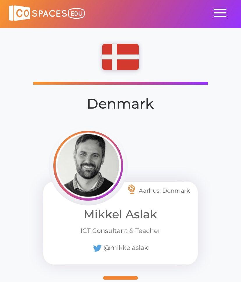 test Twitter Media - Så vejer det danske flag på siden over CoSpaces ambassadører. Fedt - især når jeg alligevel farer rundt og holder oplæg om kreativitet og VR/AR i undervisningen #cospacesedu #skolechat #vr #ar #kreativitet https://t.co/VQ3bQSmI50
