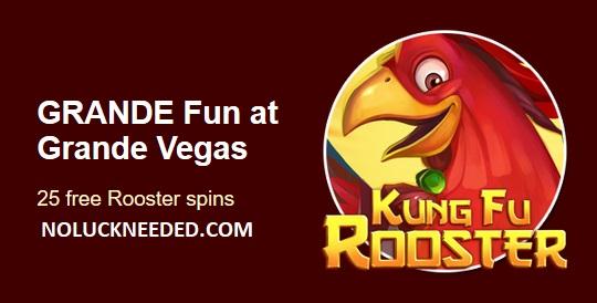 test Twitter Media - Grande Vegas Casino - New 25 Free Spins Coupon for Depositors Past 15 Days or 50 Free Spins Signup Bonus https://t.co/DugNPrqRJ0 Reliable #Bitcoin #Crypto #Litecoin #BitcoinCash #Fiat Online Casino est 2009 https://t.co/Tum6abIve1
