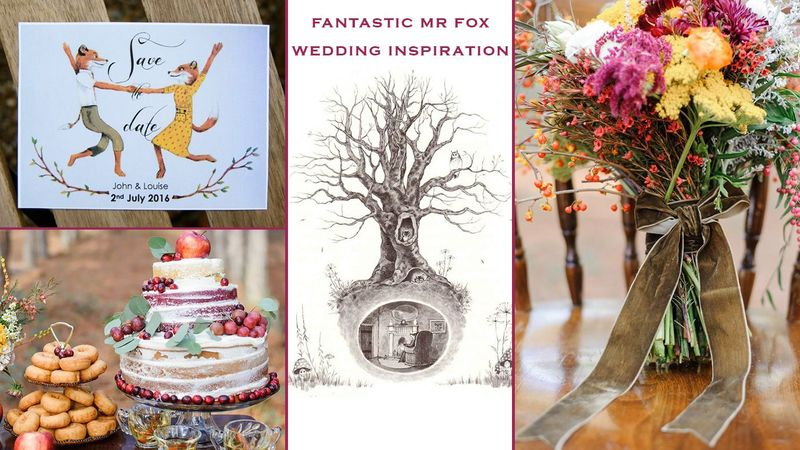 Roald Dahl fans will LOVE these beautiful wedding ideas, all inspired by Fantastic Mr