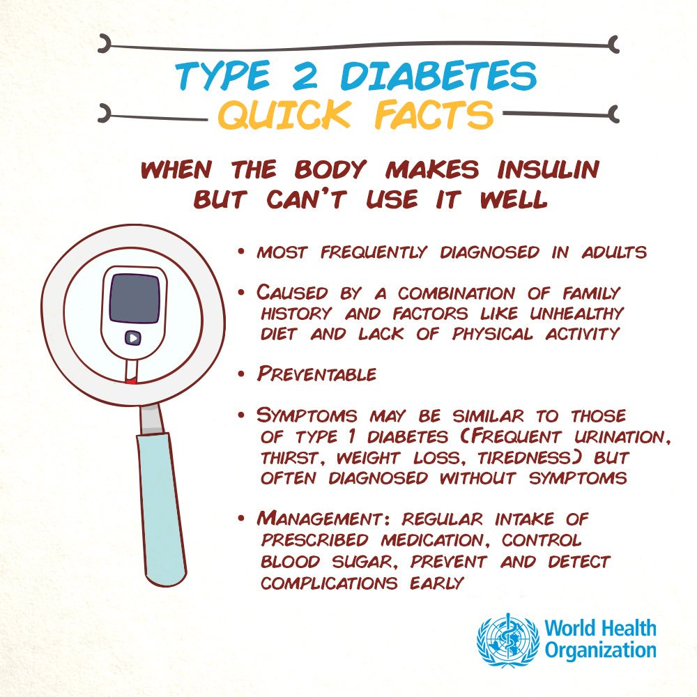 test Twitter Media - People with #diabetes have abnormally high blood sugar levels because their bodies aren't making enough insulin or can't use insulin well https://t.co/nuKkjXeGer  #WorldDiabetesDay https://t.co/vYDkQpcM0O