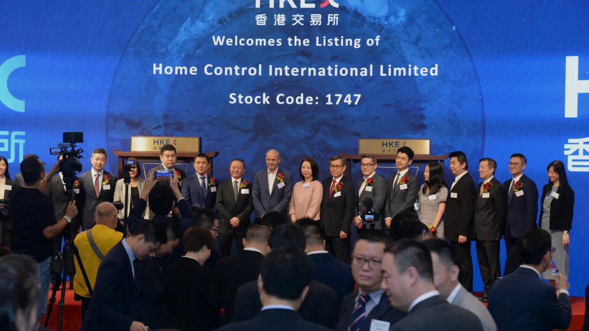 歡迎兩家公司今早在香港交易所上市!#IPO #Listing https://t.co/JlR7sycYN7