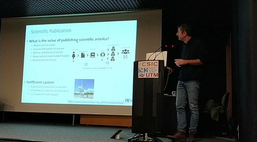 test Twitter Media - Denis Bourguet introduces #PCI Evolutionary Biology #IBE Seminar https://t.co/Cb2ZcW6uCa