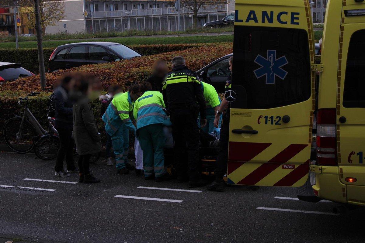 Melding ambulance Cinemadreef Almere inzake hulpdiensten