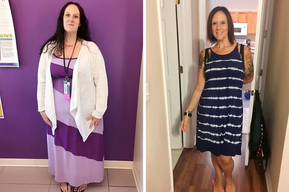 Woman loses 11 stone... And gets a