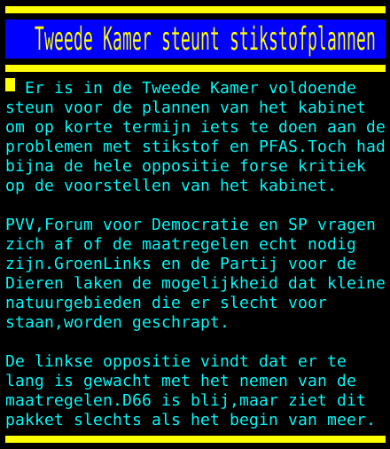 test Twitter Media - Tweede Kamer steunt stikstofplannen https://t.co/OgCyOIHp5j