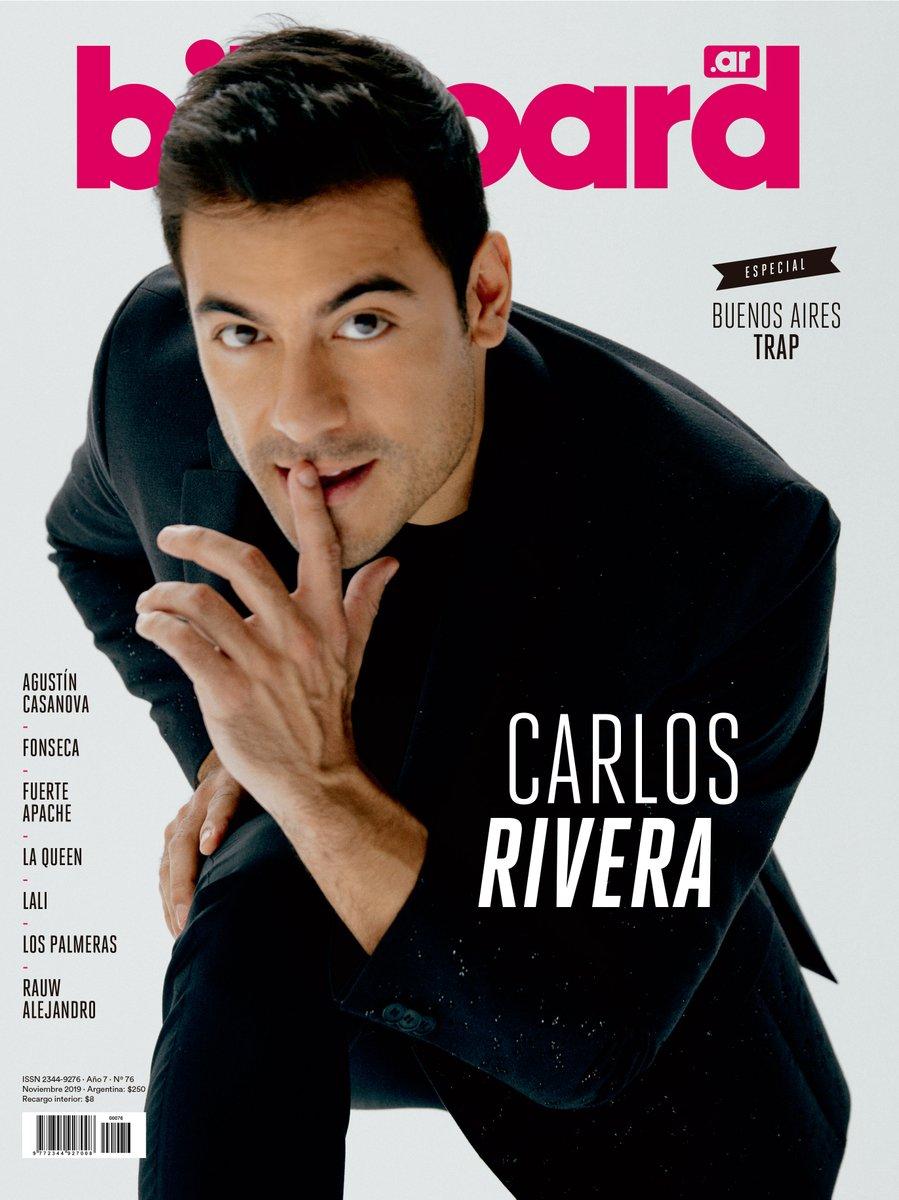 #CarlosRiveraEnBillboard De mirada fuerte y sincera, y un espíritu incansable, @_CarlosRivera  no detiene su marcha que ya lleva 15 años. El 15 de diciembre dará su show más importante en Argentina hasta la fecha.
