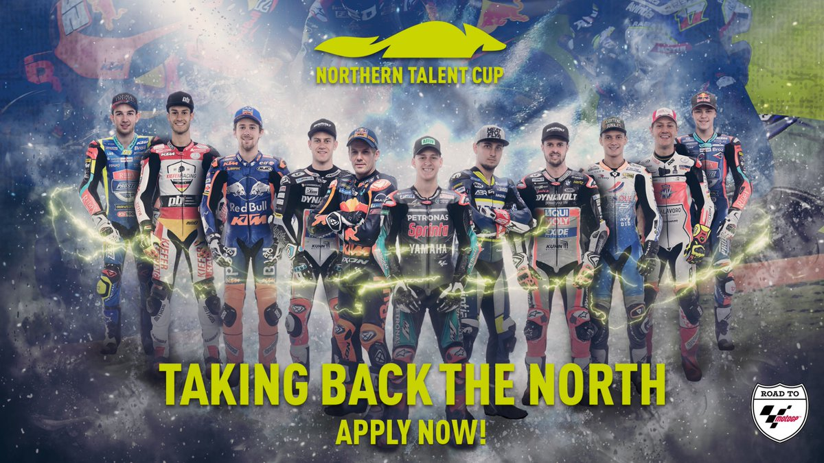 test Twitter Media - Applications for the Northern Talent Cup now OPEN!  Apply now at https://t.co/0fneBZpkTq until the 31st of December! 💨  #RoadToMotoGP 🏁 https://t.co/4hmH62gDko