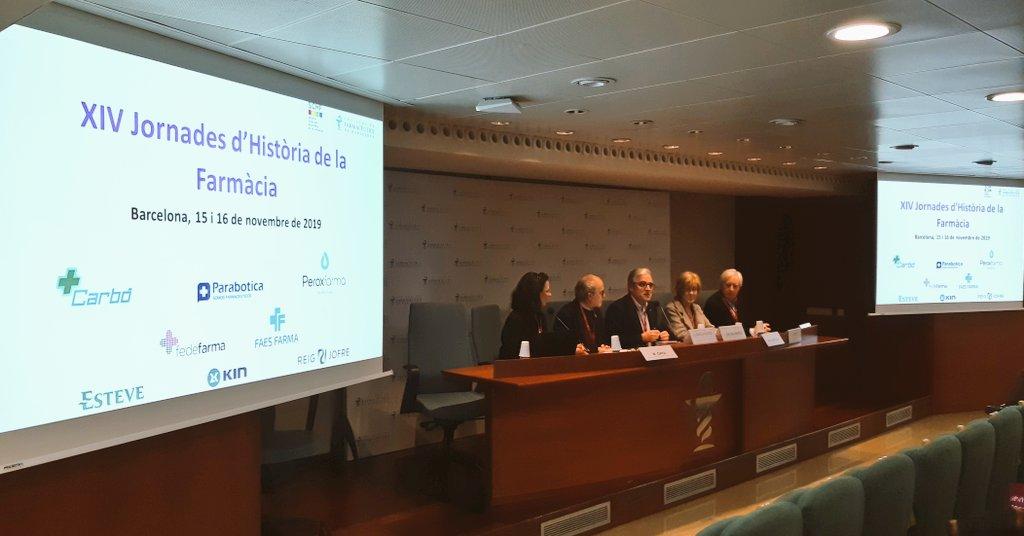 test Twitter Media - El president de @farmaceuticsbcn, Jordi de Dalmases, participa en la inauguració de les XIV Jornades d'Història de la Farmàcia que se celebren avui i demà al COFB, amb l'objectiu d'aprofundir i compartir coneixement en aquest àmbit. ℹ️ https://t.co/0iGUlOS281 https://t.co/EGSpE5iJlz