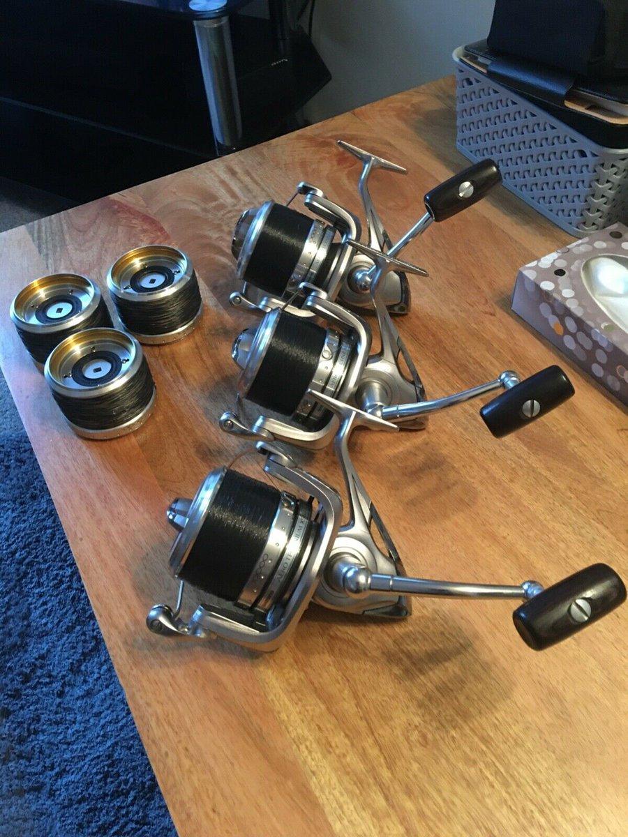 Ad - 3x Shimano Areo Technium XSB 10000 carp fishing <b>Reels</b> On eBay here -->> https://t.
