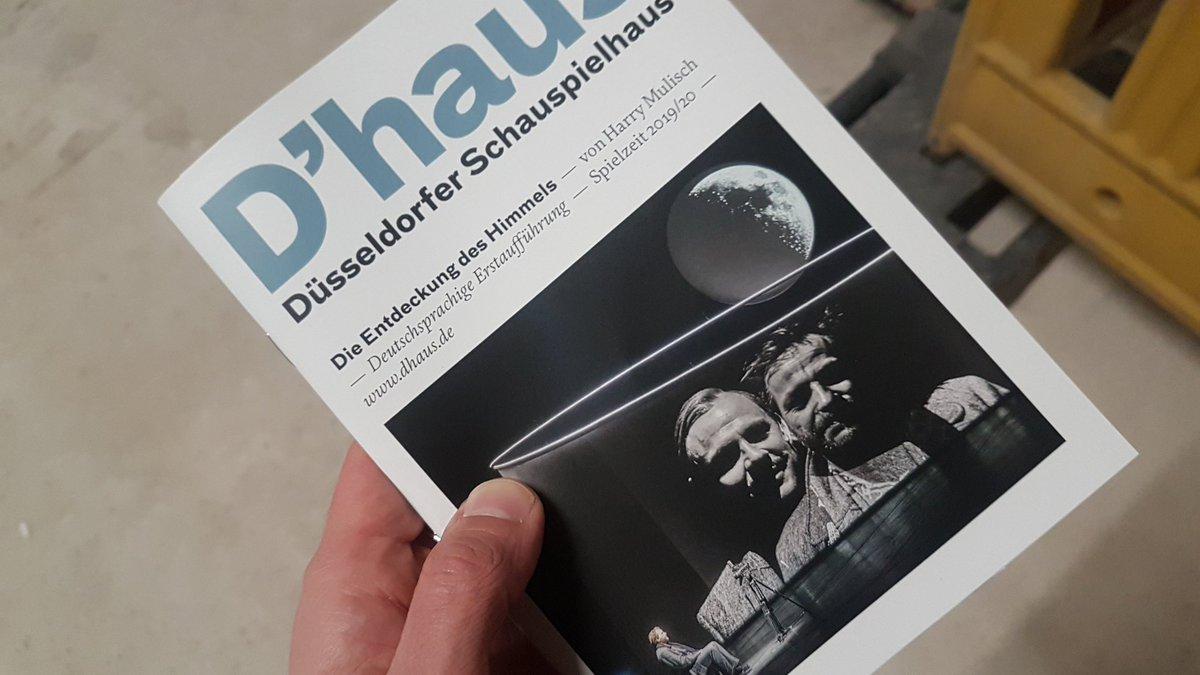 """test Twitter Media - Großer Roman auf großer Bühne. """"Die Entdeckung des Himmels"""" am @GruendgensPlatz. Ich bin gespannt. https://t.co/YsVo39sO5E"""