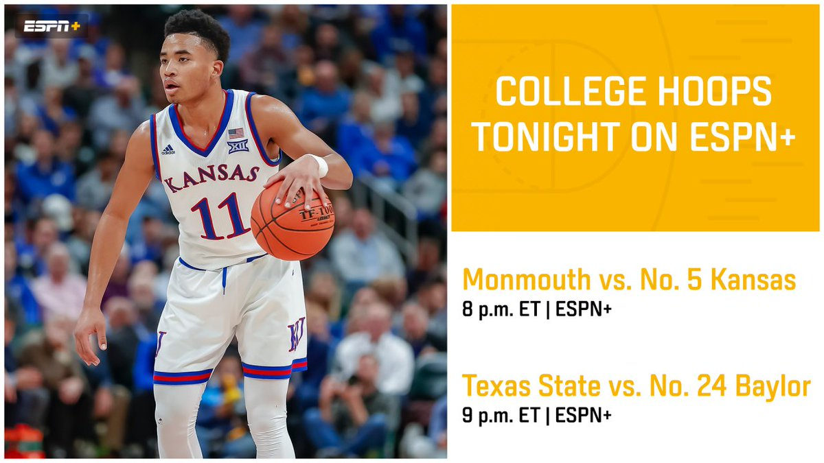 College Hoops Tonight! (The name of a great show back in the day, too)