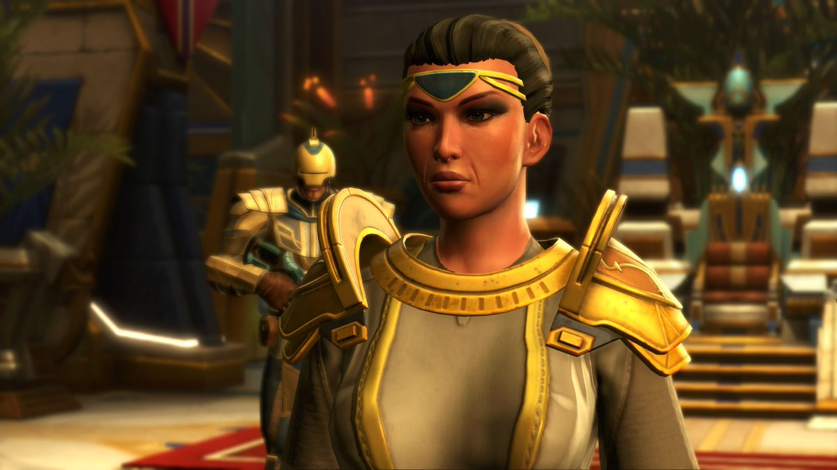 test Twitter Media - Senator Nebet serves as the connection between Onderon and the Galactic Republic. Due to the constant ineptitude of King Petryph she has become the de facto political leader. https://t.co/yGxmeHTmbm
