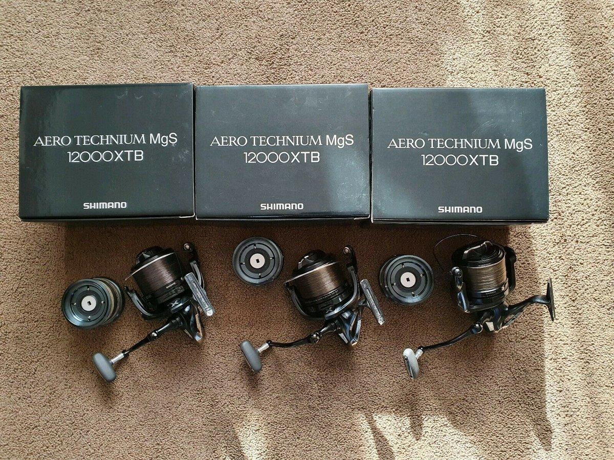 Ad - 3x SHIMANO AERO TECHNIUM MGS 12000 XTB REELS On eBay here -->> https://t.co/0Htzl0dvoN  #