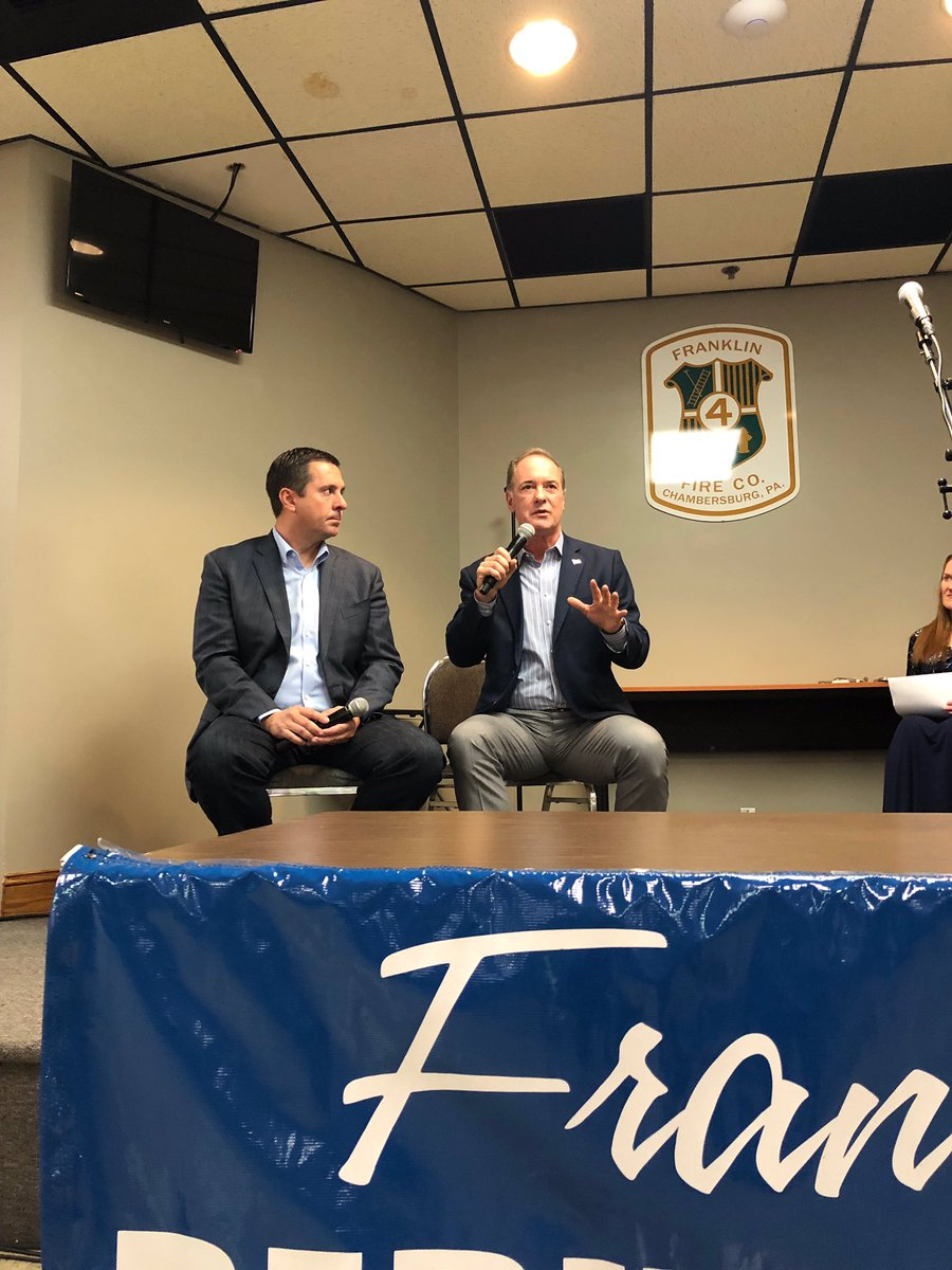 Thanks to everyone who attended today's sold out conversation with Congressman @DevinNunes in Chambersburg.   Together, we're going to keep fighting for our conservative values.