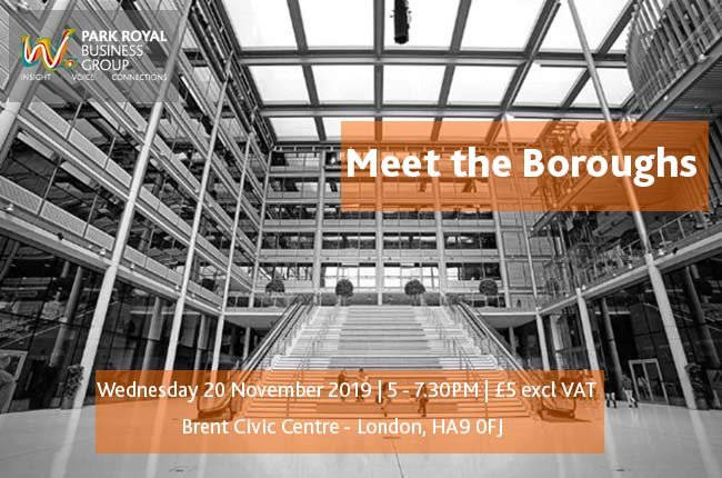 Book your tickets now for the @WestLBusiness 'Meet the Boroughs'. This is a great opportunity to meet departments from Brent and @EalingCouncil. Book your place now: